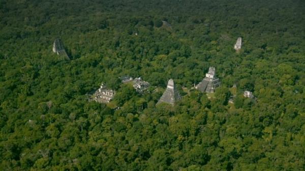 60 هزار سازه باستانی مایا با نقشه برداری لیزری کشف شد